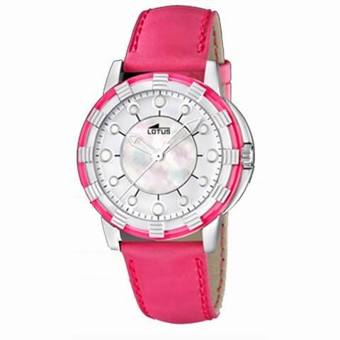 reloj lotus glee rosa