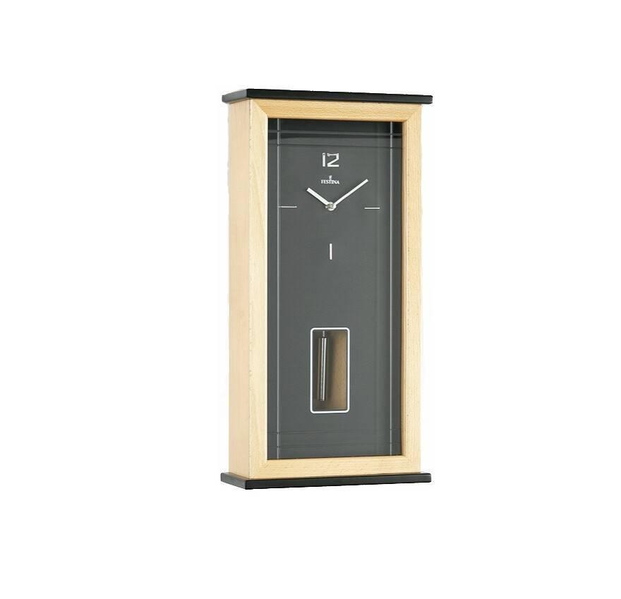 7ab50b6d57bf Reloj de pared moderno madera péndulo JOyería Juan Luis Larráyoz pamplona  comprar relojes de pared joyería