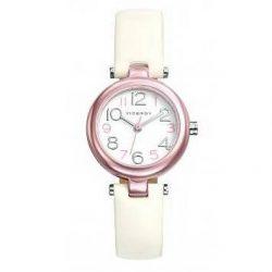 4a297dd0a8c0 Reloj Viceroy niña acero rosa correa blanca