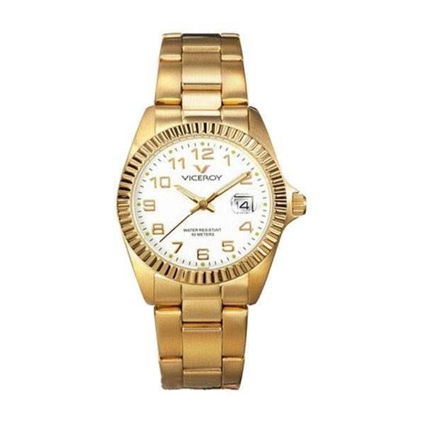 dbdf3192161a Reloj Viceroy dorado clasico Joyería Juan Luis Larráyoz pamplona comprar  online comprar reloj viceroy joyería online