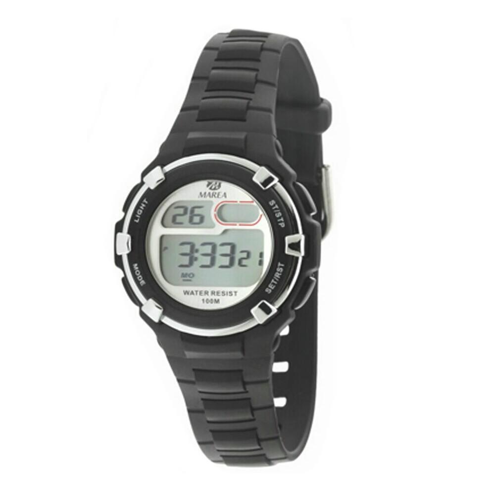 25bf51da247d Reloj Marea Digital sumergible 100m negro