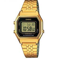 e6f490073952 Reloj Casio retro dorado digital