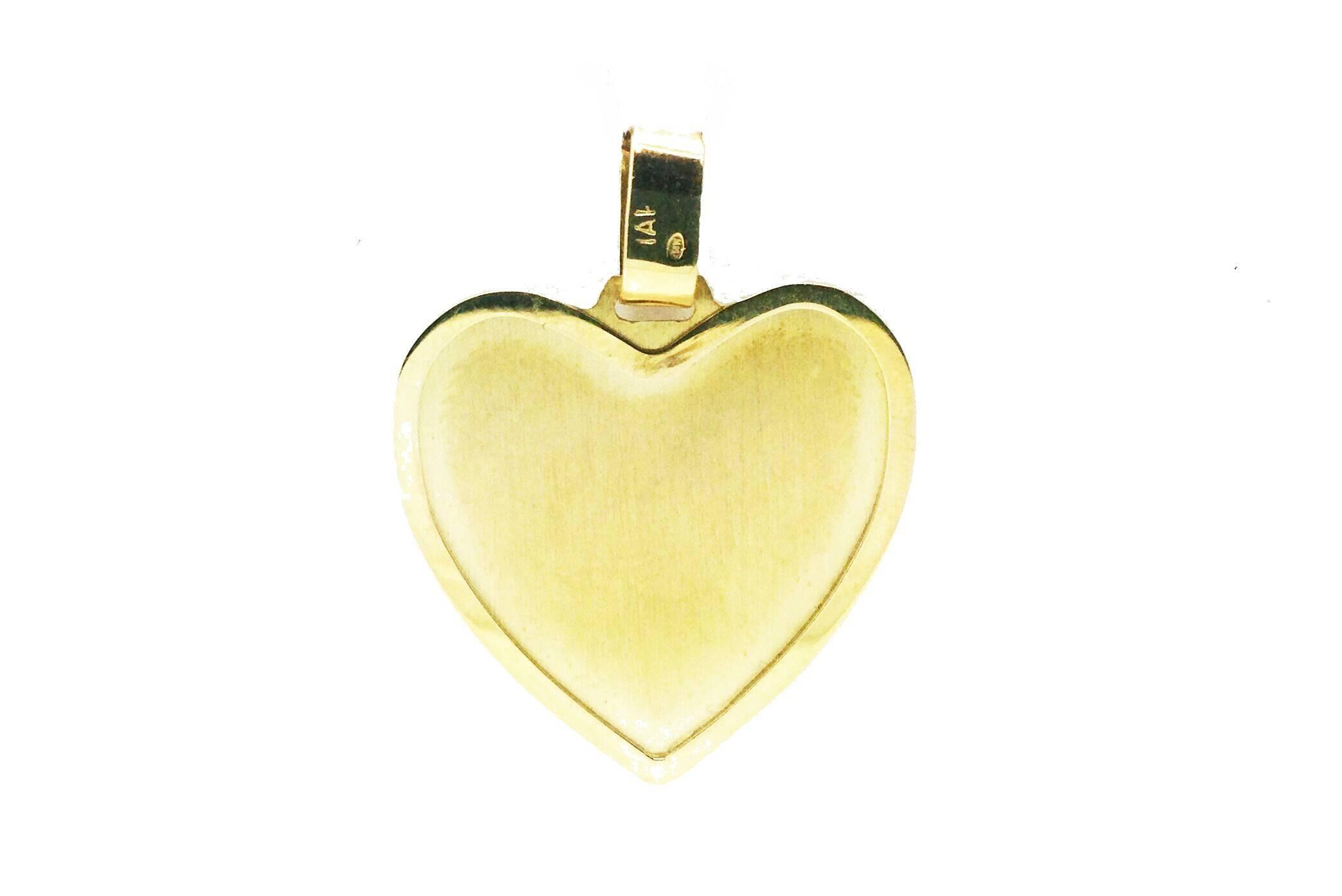 31b09f06da69 Colgante de oro corazón amor love san valentín enamorado oro pergamino Joyería  Juan Luis Larráyoz Pamplona