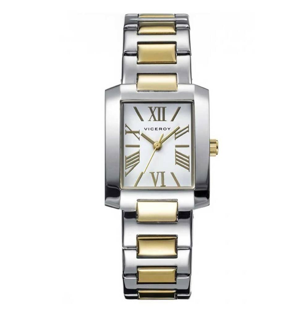 d969bade77c6 Reloj Viceroy bicolor clásico señora Joyería Juan Luis Larráyoz Pamplona