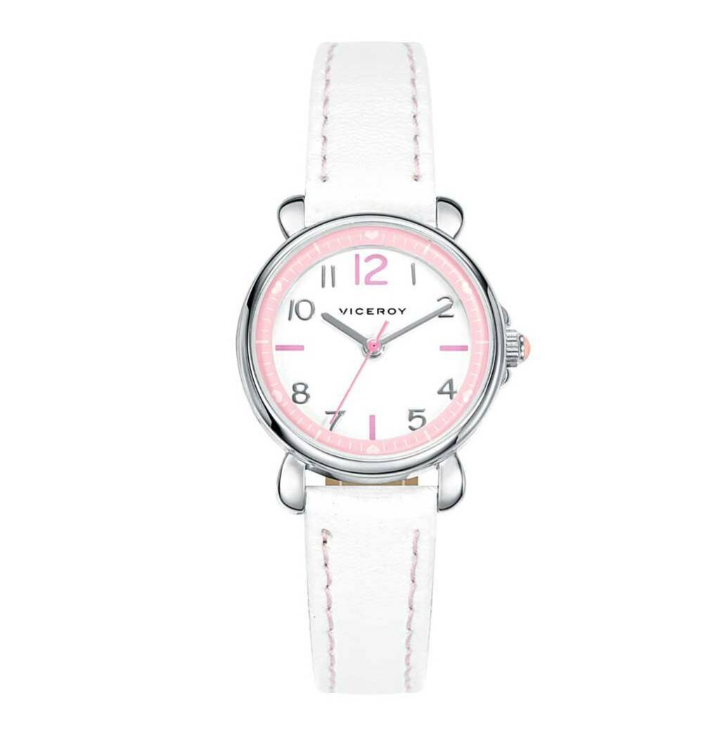 Reloj Viceroy niña rosa blanco Joyería Juan Luis Larráyoz pamplona regalo  primera comunión reloj comunión joyería 2127a132dfad