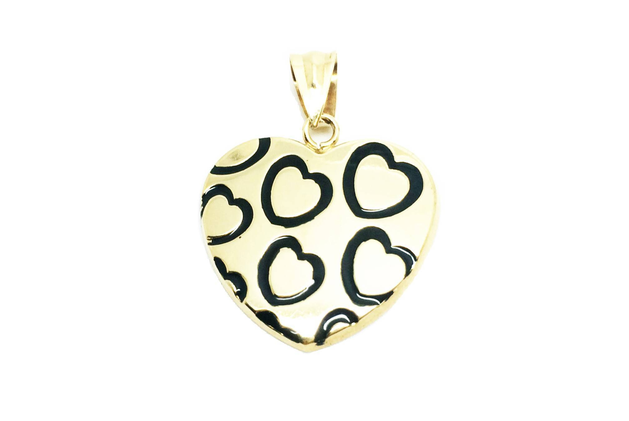 1f6a8b9cee29 Colgante de oro corazón san valentín amor Joyería Juan Luis Larráyoz  Pamplona comprar colgante corazón online