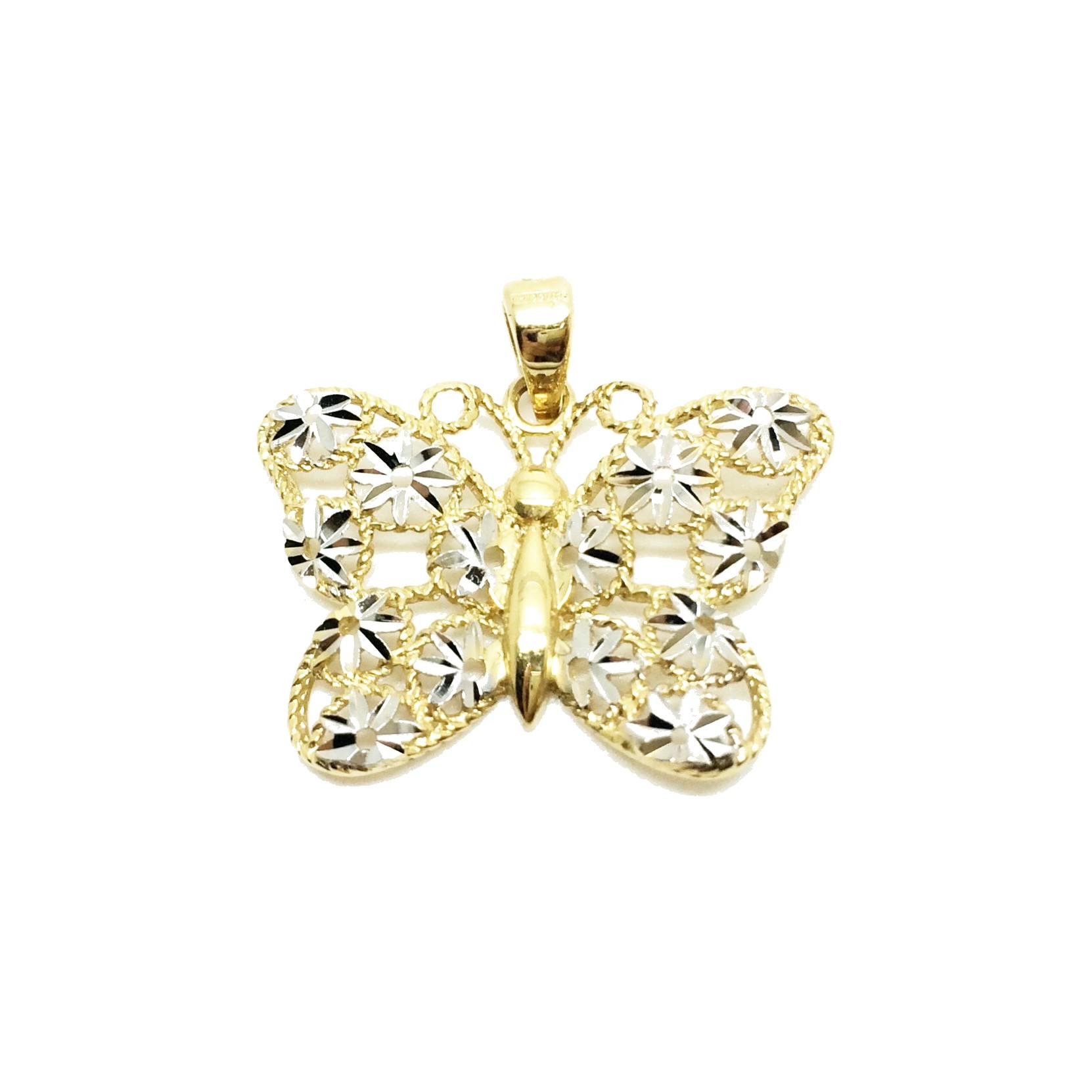 2b8f12280ffd Colgante de oro mariposa Joyería Juan Luis Larráyoz Pamplona