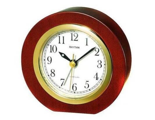 Reloj de sobremesa despertador Rhythm