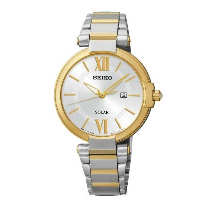 7482ddd086bf Reloj Seiko bicolor mujer Joyería Juan Luis Larráyoz Pamplona comprar seiko  señora online relojeria joyeria online