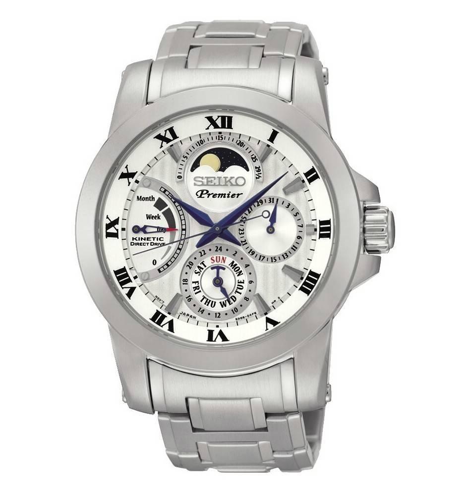 c8a85555b5ba Reloj seiko premier kinetic caballero Joyería Juan Luis Larráyoz Pamplona  comprar seiko joyería online