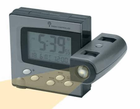 Reloj Despertador Festina proyección de hora y temperatura