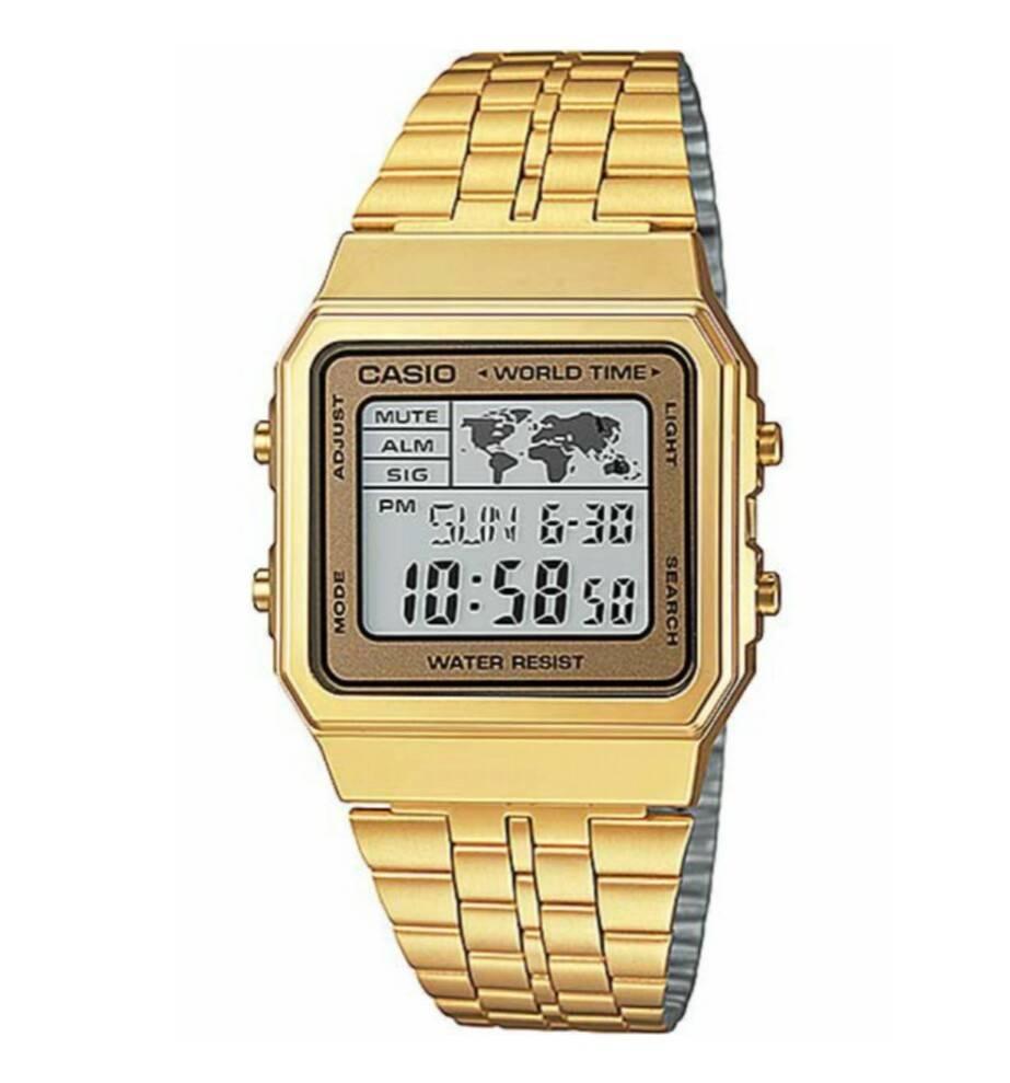ea2a171634d3 Reloj Casio retro dorado digital Joyería Juan Luis Larráyoz Pamplona  comprar relojes casio joyería online