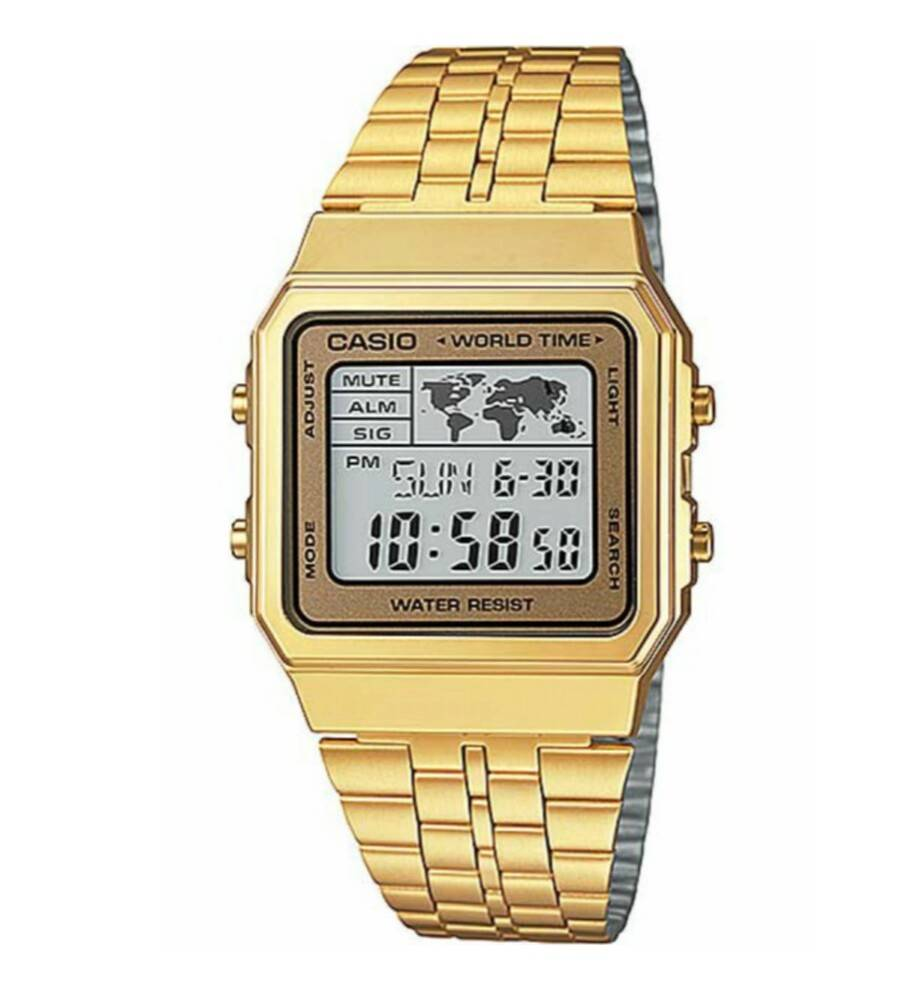 9f01026b2133 Reloj Casio retro dorado digital Joyería Juan Luis Larráyoz Pamplona comprar  relojes casio joyería online