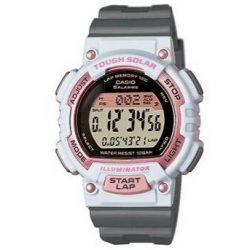 bd1a5d3bc1a7 Reloj Casio digital niña gris y rosa