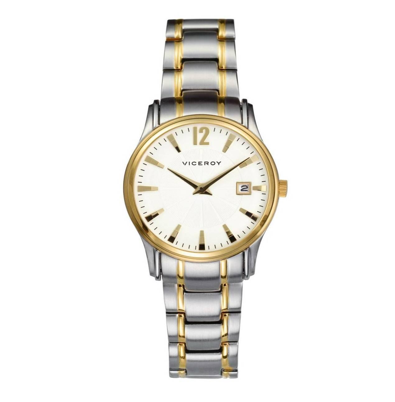 405ef816d845 Reloj Viceroy bicolor clásico señora Joyería Juan Luis Larráyoz Pamplona