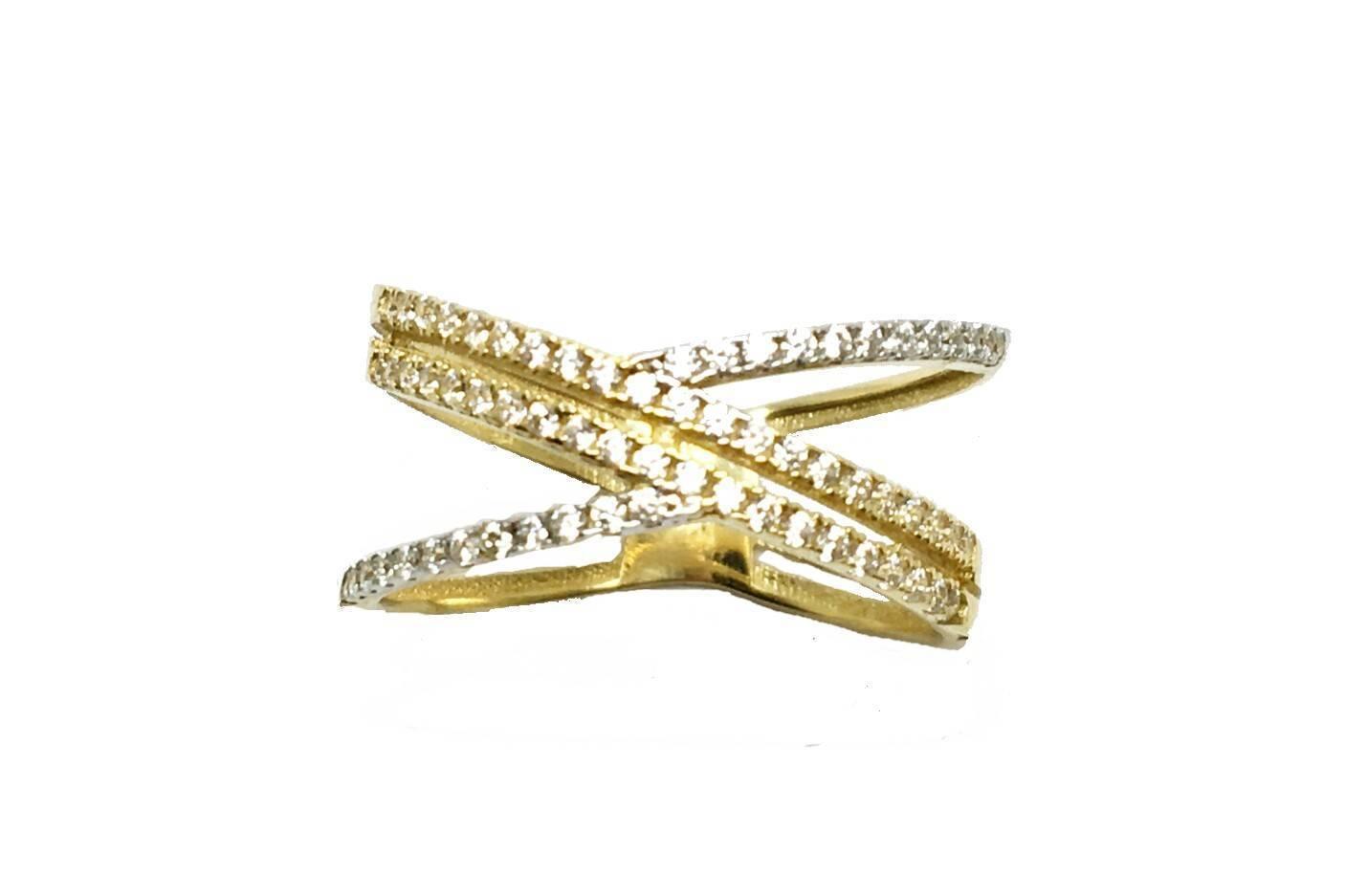 Sortija de oro bicolor Sortija de compromiso Joyería Juan Luis Larráyoz Pamplona comprar online joyería online