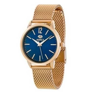 10abdd000514 Reloj Marea azul malla milanesa oro rosaJoyería Juan Luis Larráyoz Pamplona  joyería online relojes online