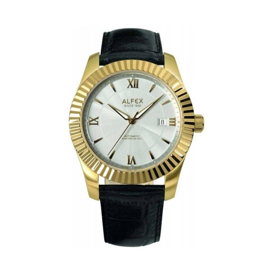7c897b085b3f Reloj Alfex dorado caballero Joyería juan Luis Larráyoz Pamplona comprar  reloj alfex online relojería online