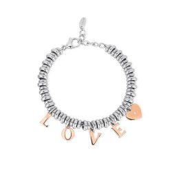 Pulsera de acero Love 2Jewels