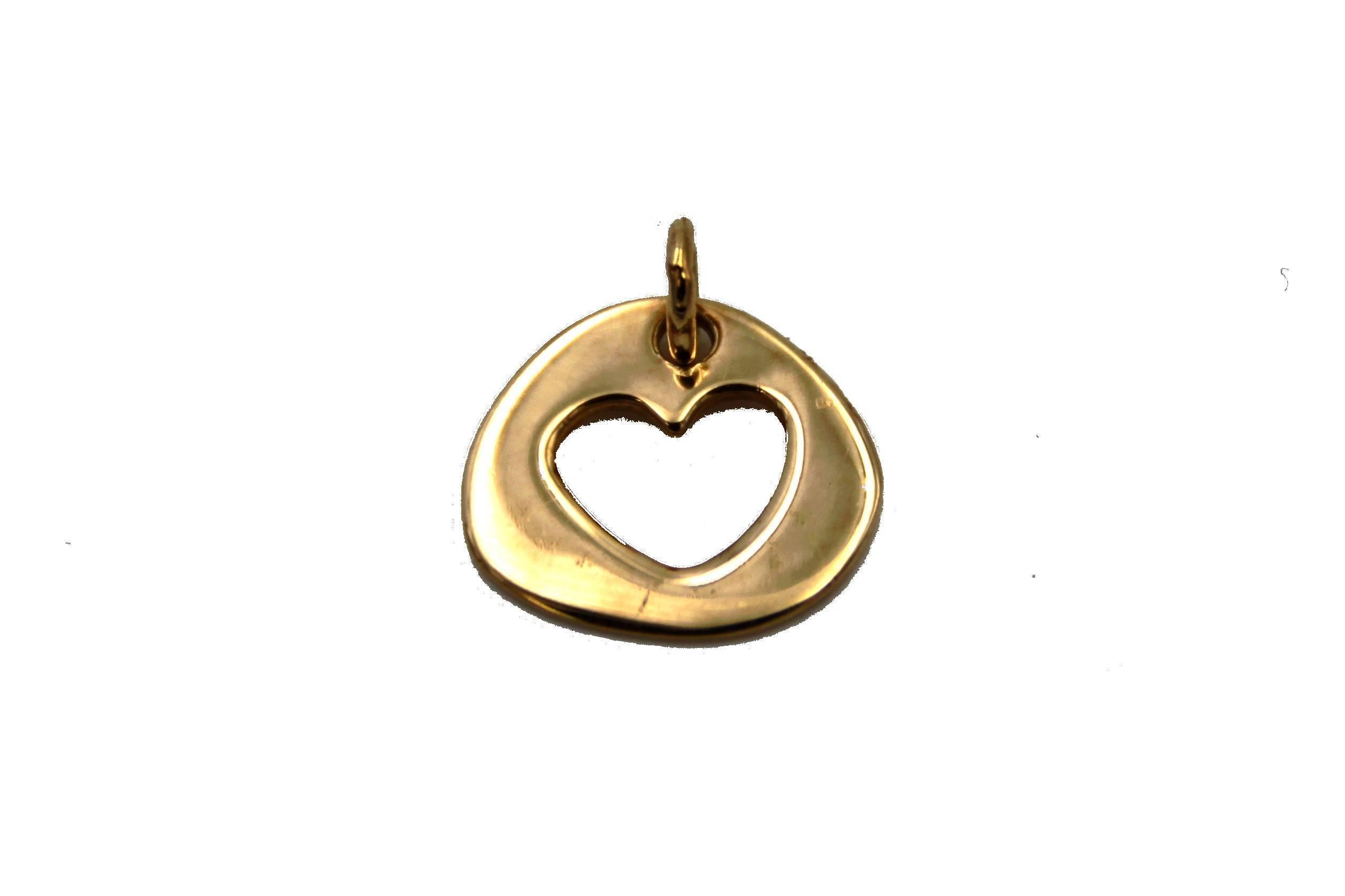 ac569522fbd8 Colgante de oro corazón san valentín amor Joyería Juan Luis Larráyoz  Pamplona comprar colgante corazón online