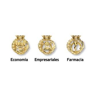 Insignias profesionales de oro profesiones graduación regalo fin carrera joyería juan luis larráyoz pamplona comprar online