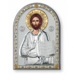 Icono tipo retablo Cristo joyería juan luis larráyoz pamplona