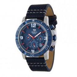 007d01555635 Reloj Marea multifunción azul correa piel