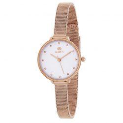9f8c54227dcb Reloj Marea oro rosa malla milanesa