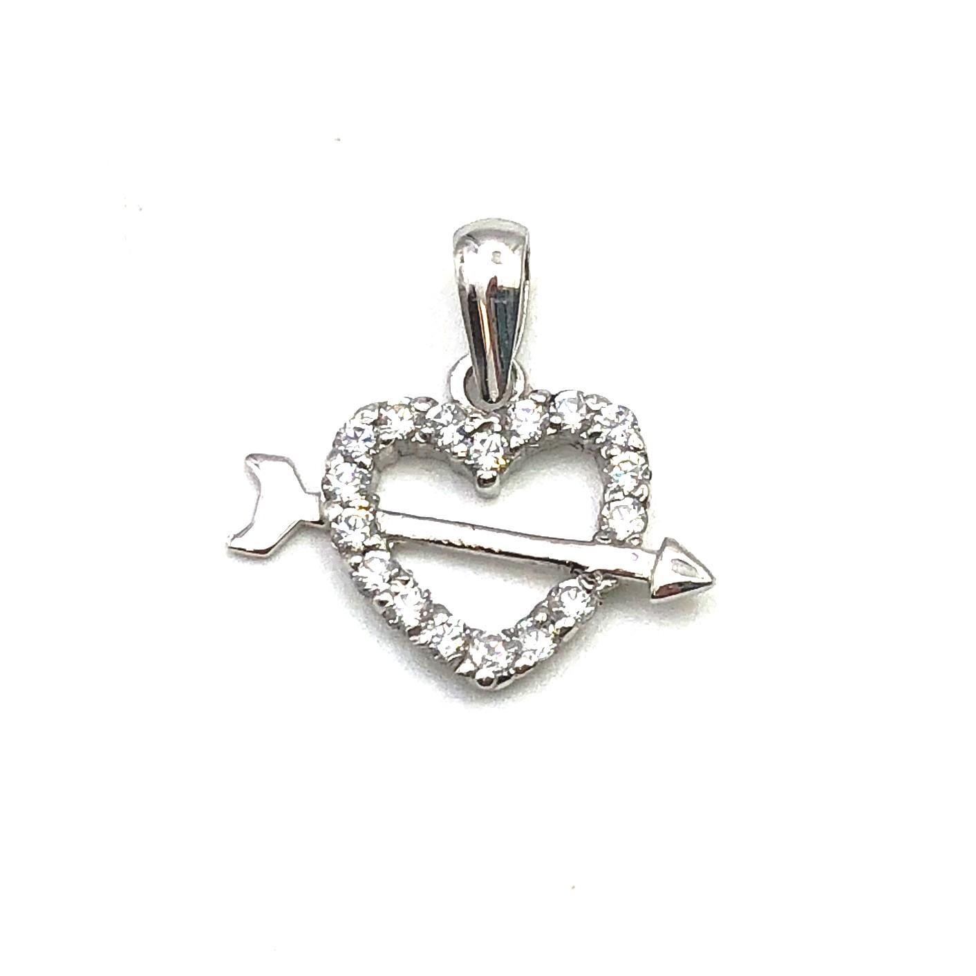 4d007db971ed colgante de oro blanco corazón love san valentín amor joyería juan luis  larráyoz pamplona