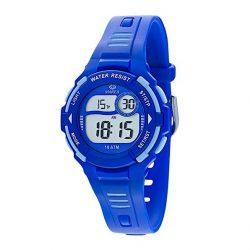 d1e46ca81295 Reloj Marea Digital azul infantil 100m