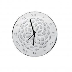 reloj de pared laminado plata joyría juan luis larráyoz pamplona