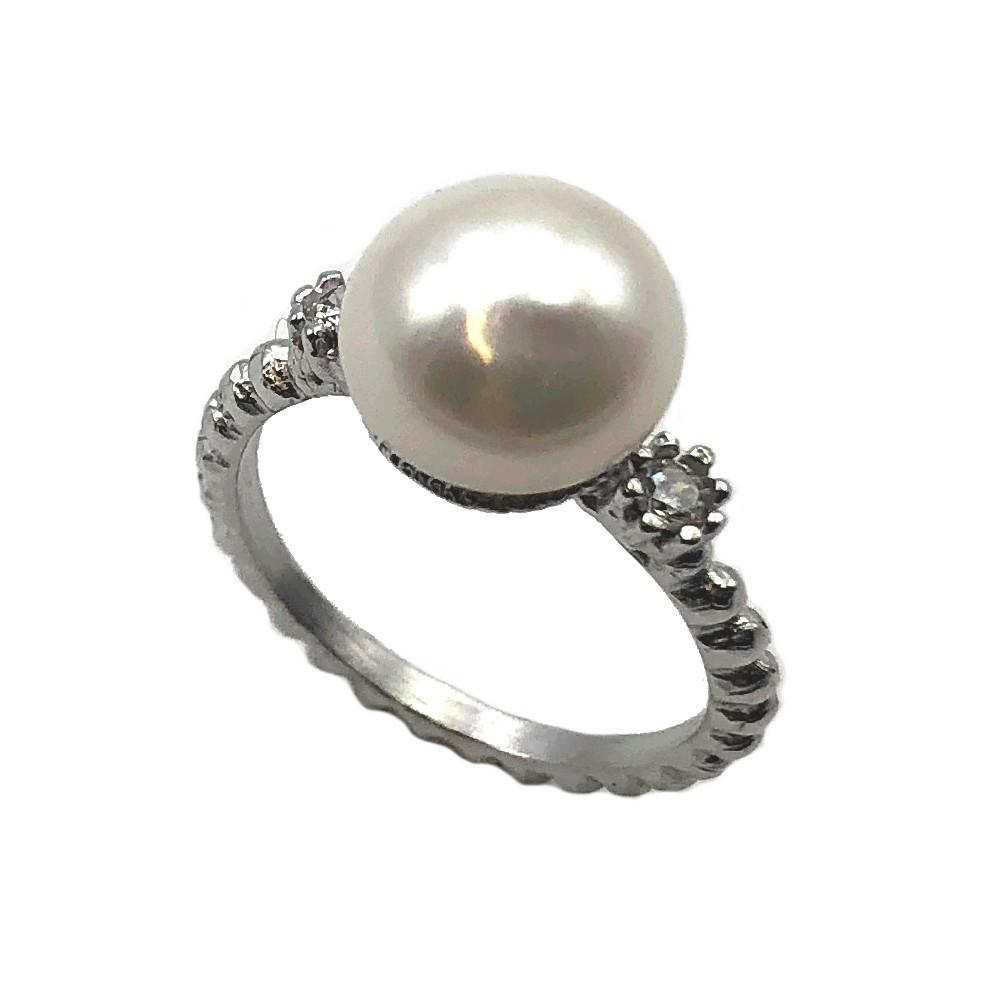 c966ddad6814 sortija de plata y perla étnica joyería juan luis larráyoz pamplona