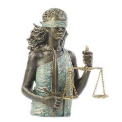 Escultura Justicia regalo profesiones abogado lderecho fiscal juez fin carrera joyería juan luis larráyoz