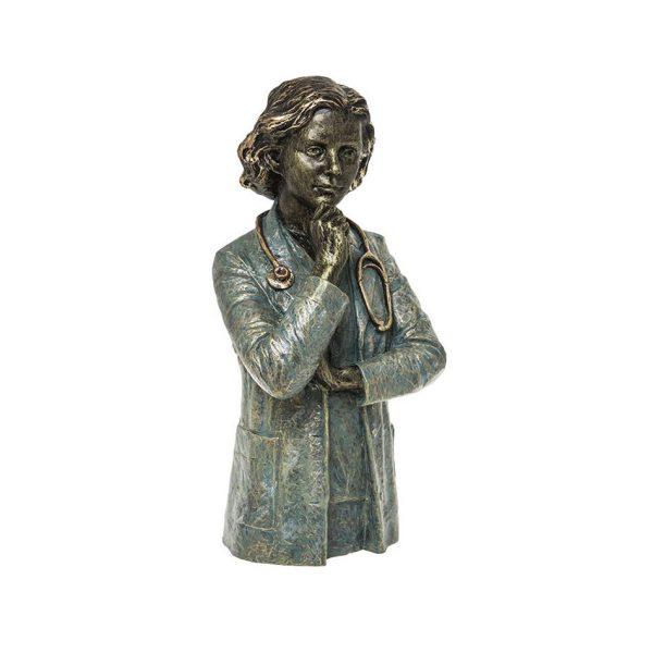 escultura médico doctora mediciona regalo profesión joyería juan luis larráyoz pamplona