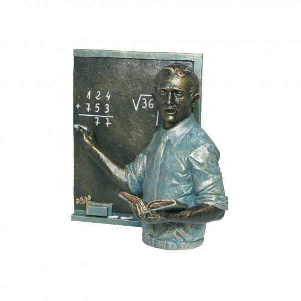 escultura regalo profesor maestro magisterio enseñanza joyería juan luis larráyoz pamplona