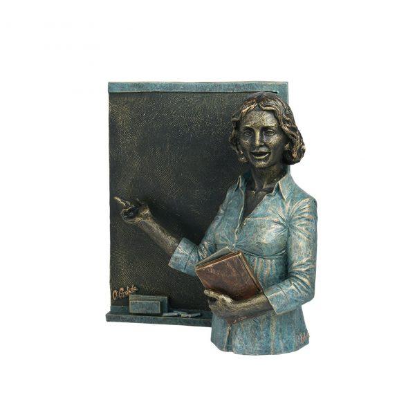 escultura regalo profesora maestra magisterio enseñanza joyería juan luis larráyoz pamplona