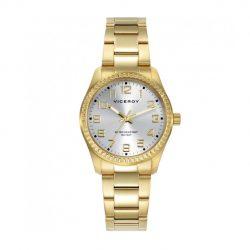 3aaea1791ffa Reloj Viceroy dorado esfera champagne