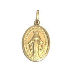 medalla de oro virgen de la milagrosa joyería juan luis larráyoz pamplona
