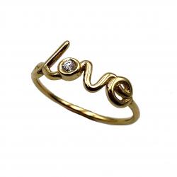 Sortija de oro y diamante Love Joyeía Juan Luis Larráyoz Pamplona comprar regalo san valentín sortija de compromiso