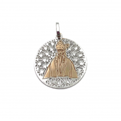 af9870cf5c7e Medalla de plata San Fermín bicolor