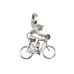 colgante de plata bicicleta ciclista joyería juan luis larráyoz pamplona