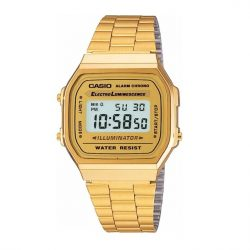 reloj casio retro digital dorado joyería juan luis larráyoz pamplona