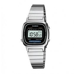 reloj casio retro digital plateado joyería juan luis larráyoz pamplona