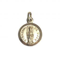 medalla de oro virgen de ujué navarra joyería juan luis larráyoz pamplona
