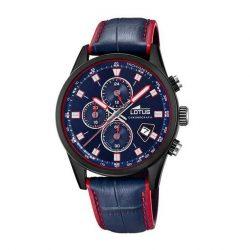 ad5bd148bcff Reloj Lotus Cronógrafo azul y rojo