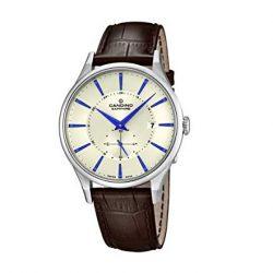 b5664fb7e877 Reloj Candino acero caballero correa piel