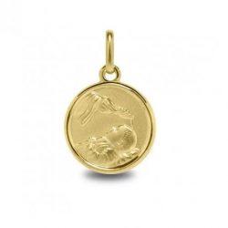 medalla de oro bautimo joyería juan luis larráyoz pamplona