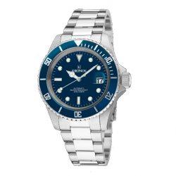 reloj kronos sports q automatic sumergible 200m azul joyería juan luis larráyoz pamplona