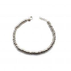 pulsera de plata anillas joyería juan luis larráyoz pamplona