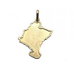 colgante mapa de navarra oro joyería juan luis larráyoz pamplona